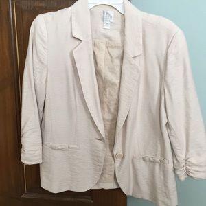 Lauren Conrad beige blazer